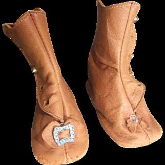 Antique laether shoes