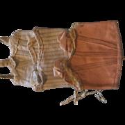 Antique corset bleuette 3