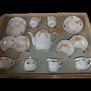 SALE Antique  porcelain coffee set