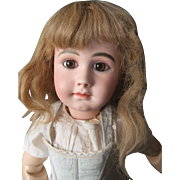 SALE Nice antique human wig for french or german doll.