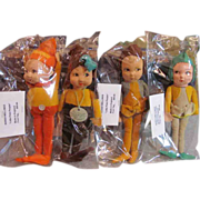 SOLD 4 Norah Wellings Little Pixie People_Made in England_Nice