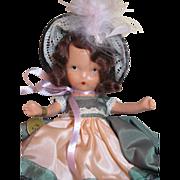 SOLD NASB Doll_Flossie Came from Dublin Town_No174_w/box_w/wrist tag_w/box label_