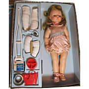 SOLD MARYBEL GET WELL DOLL_Madame Alexander Co._Circa 1958.