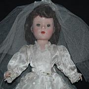 "Lovely Bride 14"" Hard Plastic Sweet Sue"