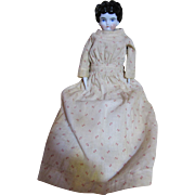 Darling Little Early Calico Dress for China Doll
