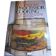 SALE Jean Anderson's Processor Cooking, Excellent Teaching Cookbook