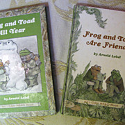 SOLD Frog & Toad are Friends 1970, Frog & Toad All Year 1976, Arnold Lobel