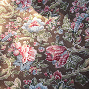 SOLD 2 1/2 Yds Plus of Heavy Duty Kaufmann Stain Resistant Upholstery Fabric