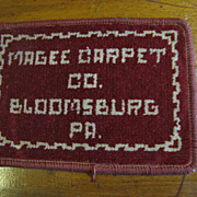 SALE Interesting Magee Carpet Company Small Carpet Sample