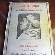 SALE 1921 Martin Luther by SCHRECKENBACH,P. & REUBERT,F. Martin Luther, ein Bild seines Le