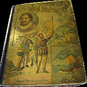 SALE 1893 Heroes of American Discovery by N. d'Anvers