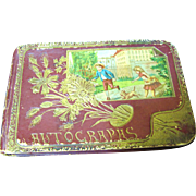 Stunning Antique 1889 Autograph Book Signed by Family and Friends