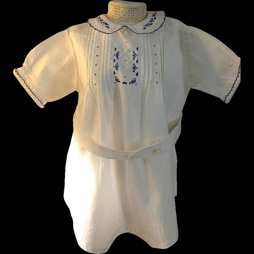 Charming Older Vintage Romper Suit for Child or Doll