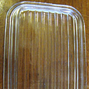 Oblong Glass Lid for Refrigerator Box (No Box - Lid Only)