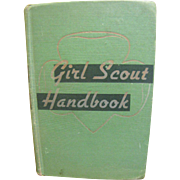 SALE 1949 Girl Scout Handbook Intermediate Program