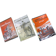 SALE Fw: Set of 3 westerns: The Border Vengeance, Caprock Range & Riders of the Tierra ...