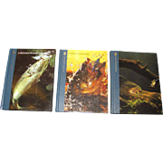 "SALE Three Book Set ""The Huntiing and Fishing Library""‏"