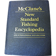 SALE McClane's New Standard Fishing Encyclopedia 1974‏