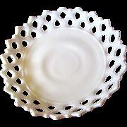 Huge Westmoreland Lace Edged Milk Glass Centerpiece Bowl No 2