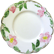 B & B Plate in the Desert Rose Pattern by Franciscan China