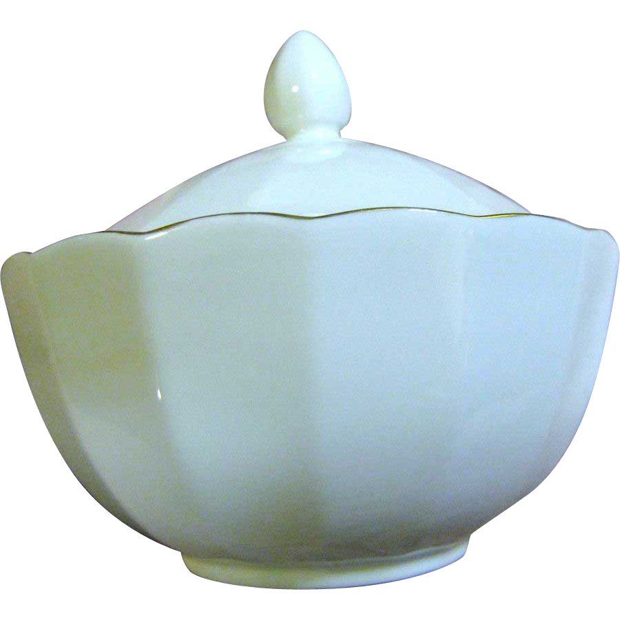 Super English Royal Vale Bone China Lidded Sugar