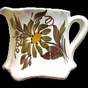 "SALE Pretty 2 3/4"" Creamer by Cash Family American Artisan Pottery"