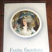 """Easter Greetings"" German Postcard Embossed circa 1900"