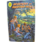 SALE 1965, A Whitman Tween Age Book #1756, Mystery at Redtop Hill by Marjory Schwalje‏
