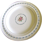 """Harmony House Mount Vernon 10 1/4"""" Dinner Plate By Hall China"""