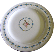 """Harmony House Mount Vernon 6 1/4 """" Bread Plate By Hall China"""