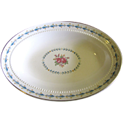 """Harmony House Mount Vernon 9 """"Oval Vedge Bowl By Hall China"""