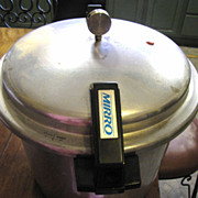 Massive Vintage 22 Quart Canning Pressure Cooker by Mirro