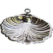Dramatic & Elegant Silver Plated Large Server by English Silver