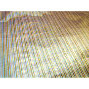 """Wonderful 32"""" by Remnant of Heavy Uphostery Striped Velour"""
