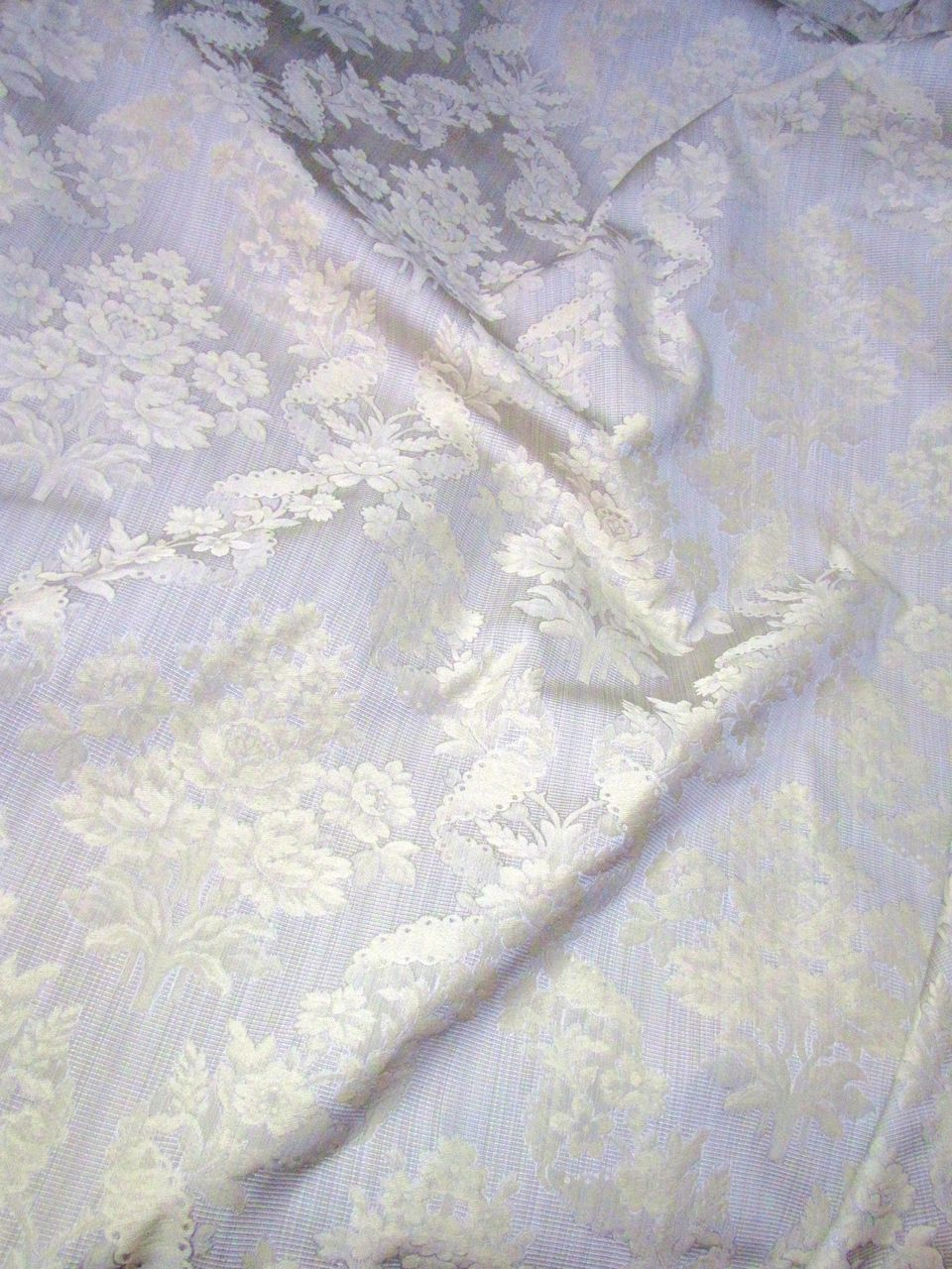 Elegant 2 1/2 Yds + Bolt End of Fully Woven Taupe Brocade