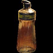 SALE 1950's, Large Sheaffers Skrip Ink Bottle, with Original Lid/Applicator