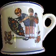 SALE O.P. Co. Syracuse 1928 Child's Mug, Rare & Pristine