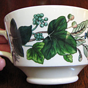 RARE Green Garland Cup (no saucer) by Spode