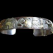 SOLD Bengay Navajo Sterling Storyteller Bracelet