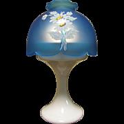 Lovely Westmoreland Retro Fairy Lamp, Prettiest Blue!