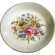 Royal Worcester for Avon 1982 Happy Holidays Trinket Bowl