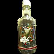 SALE Flowers in a Bottle, Fun Vintage Arrangement from Japan