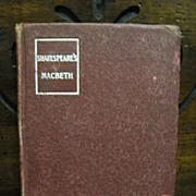 SALE 1903,  Shakespeare's Macbeth, Small Book Edition
