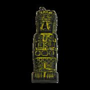 Inca Soapstone Hand Carved Statue Pendant