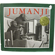 Jumanji by Chris Van Allsburg (1981, Hardcover w/DJ)