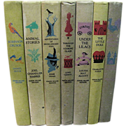7 Classics, Junior Deluxe Editions copyright from 1945-1954 Illustrated
