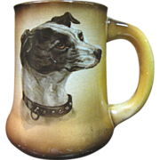 Antique 1906 Taylor Smith & Taylor Dog Mug