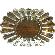 Heisey Crystolite Oval Nut, Candy, Relish Dish