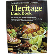 Heritage Cook Book 1975 First Edition, First Printing