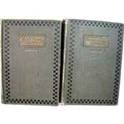 1905, Short Story Classic American Books 2 book Lot Volume 2 & 3